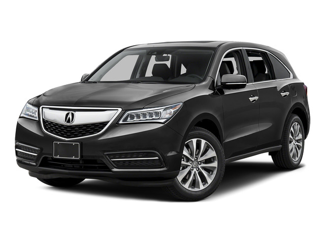 Graphite Luster Metallic 2016 Acura MDX Pictures MDX Utility 4D Technology DVD AWD V6 photos front view