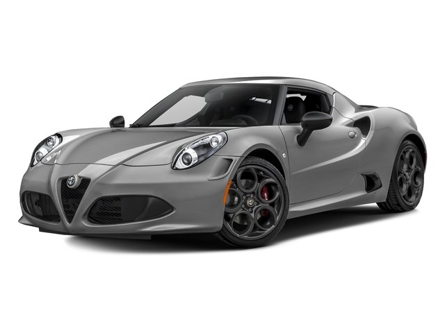 Basalt Gray Metallic 2016 Alfa Romeo 4C Pictures 4C Coupe 2D I4 Turbo photos front view