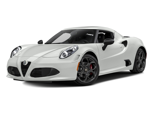 White 2016 Alfa Romeo 4C Pictures 4C Coupe 2D I4 Turbo photos front view