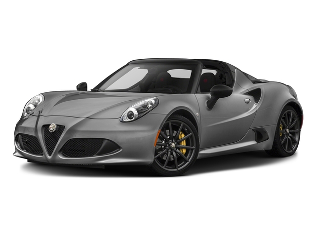 Basalt Gray Metallic 2016 Alfa Romeo 4C Pictures 4C Convertible 2D Spyder I4 Turbo photos front view