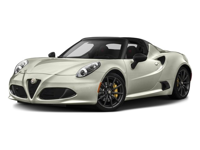 Madreperla White Tri-Coat 2016 Alfa Romeo 4C Pictures 4C Convertible 2D Spyder I4 Turbo photos front view