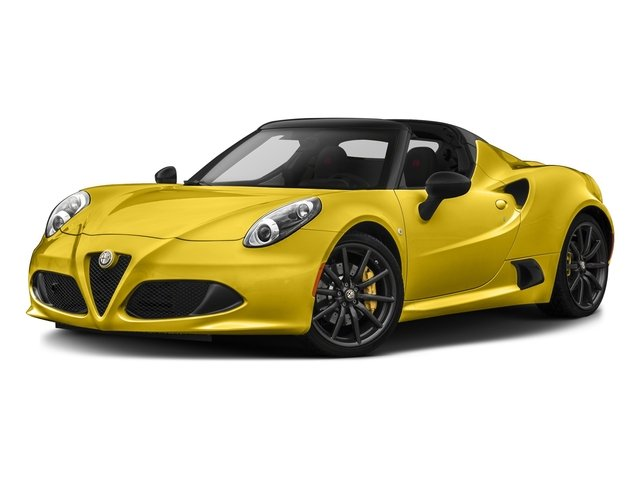 Giallo Prototipo 2016 Alfa Romeo 4C Pictures 4C Convertible 2D Spyder I4 Turbo photos front view