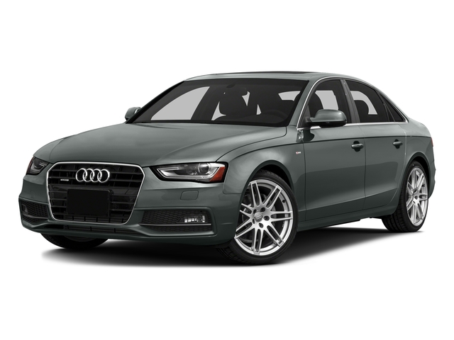 Monsoon Gray Metallic 2016 Audi A4 Pictures A4 Sedan 4D 2.0T Premium AWD photos front view