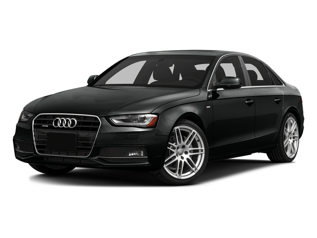 Mythos Black Metallic 2016 Audi A4 Pictures A4 Sedan 4D 2.0T Premium AWD photos front view
