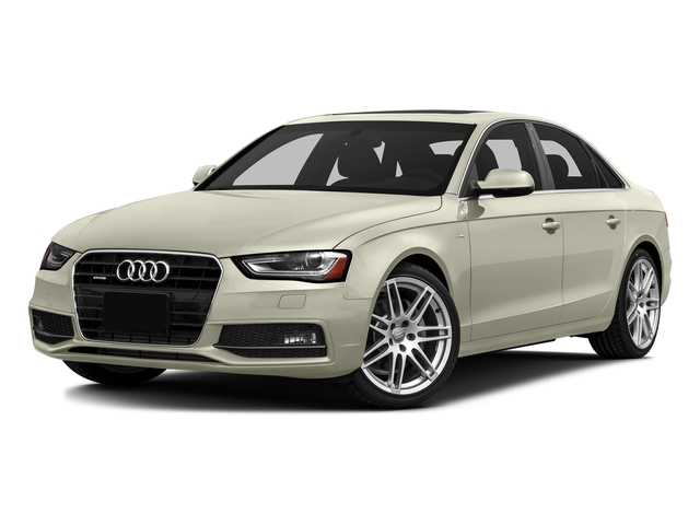 Glacier White Metallic 2016 Audi A4 Pictures A4 Sedan 4D 2.0T Premium AWD photos front view