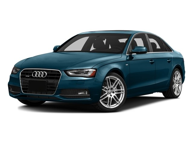 Utopia Blue Metallic 2016 Audi A4 Pictures A4 Sedan 4D 2.0T Premium AWD photos front view