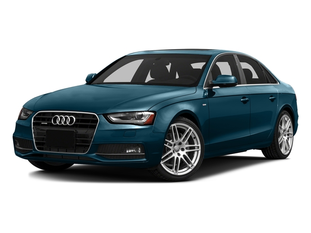 Utopia Blue Metallic 2016 Audi A4 Pictures A4 Sedan 4D 2.0T Premium 2WD photos front view