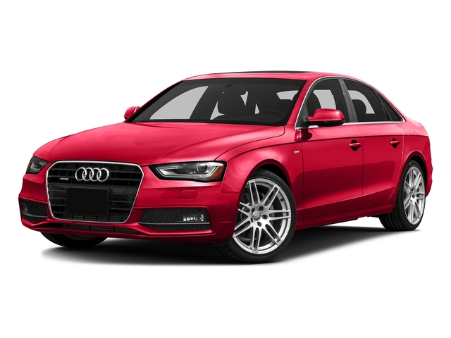 Misano Red Pearl Effect 2016 Audi A4 Pictures A4 Sedan 4D 2.0T Premium AWD photos front view