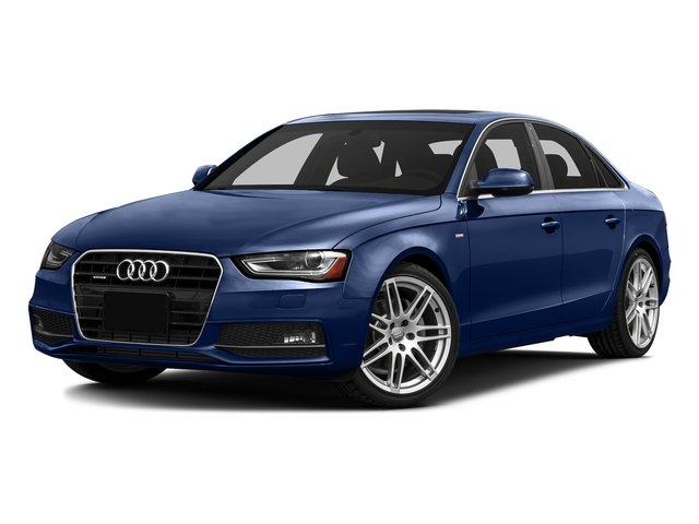 Scuba Blue Metallic 2016 Audi A4 Pictures A4 Sedan 4D 2.0T Premium AWD photos front view