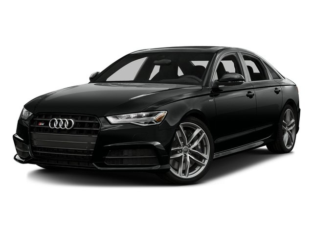 Mythos Black Metallic 2016 Audi S6 Pictures S6 Sedan 4D S6 Premium Plus AWD photos front view