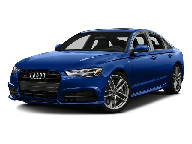 Sepang Blue Pearl Effect/Mugello Blue 2016 Audi S6 Pictures S6 Sedan 4D S6 Premium Plus AWD photos front view