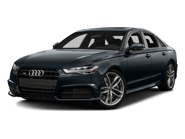 Moonlight Blue Metallic 2016 Audi S6 Pictures S6 Sedan 4D S6 Premium Plus AWD photos front view