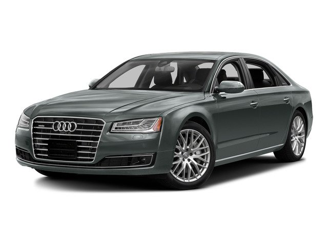 Monsoon Gray Metallic 2016 Audi A8 L Pictures A8 L Sedan 4D 3.0T L AWD V6 Supercharged photos front view