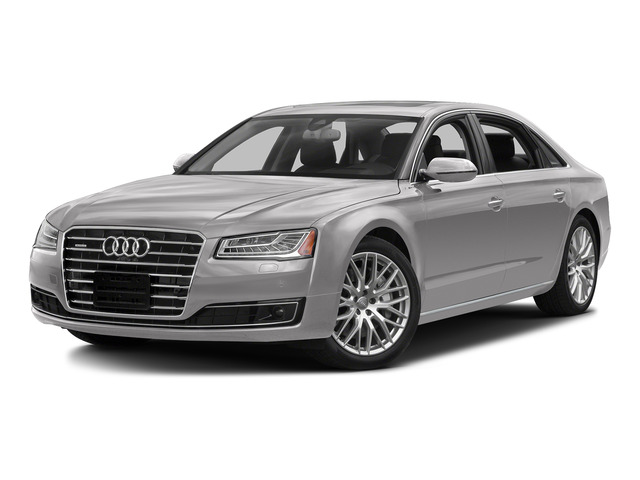 Cuvee Silver Metallic 2016 Audi A8 L Pictures A8 L Sedan 4D 3.0T L AWD V6 Supercharged photos front view