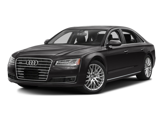 Oolong Gray Metallic 2016 Audi A8 L Pictures A8 L Sedan 4D 3.0T L AWD V6 Supercharged photos front view