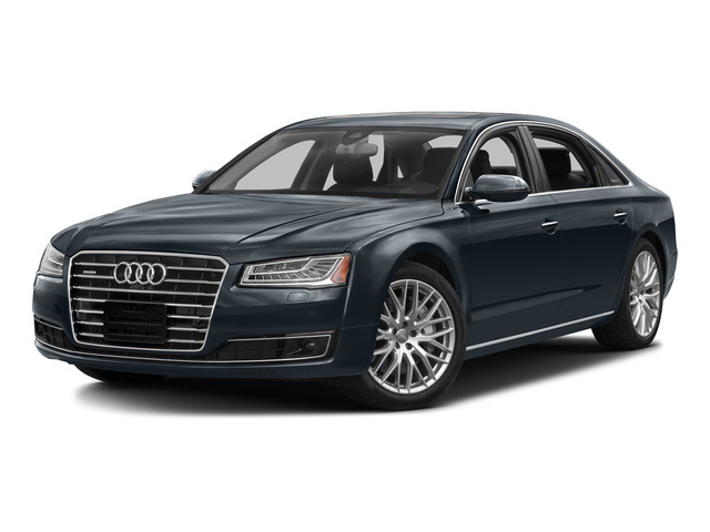 Moonlight Blue Metallic 2016 Audi A8 L Pictures A8 L Sedan 4D 3.0T L AWD V6 Supercharged photos front view