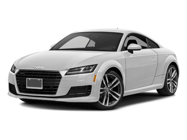 Glacier White Metallic 2016 Audi TT Pictures TT Coupe 2D AWD photos front view