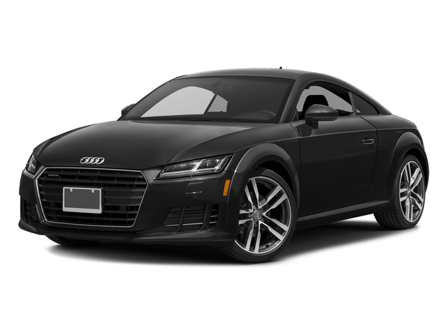 Brilliant Black 2016 Audi TT Pictures TT Coupe 2D AWD photos front view