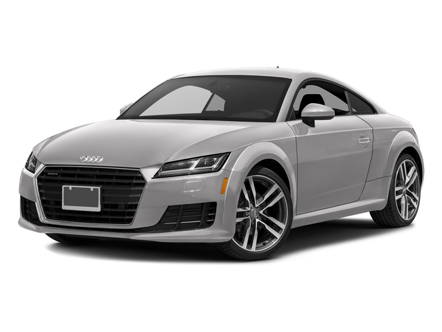 Florett Silver Metallic 2016 Audi TT Pictures TT Coupe 2D AWD photos front view