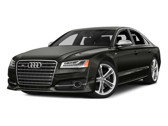 Havanna Black Metallic 2016 Audi S8 Pictures S8 Sedan 4D S8 AWD V8 Turbo photos front view