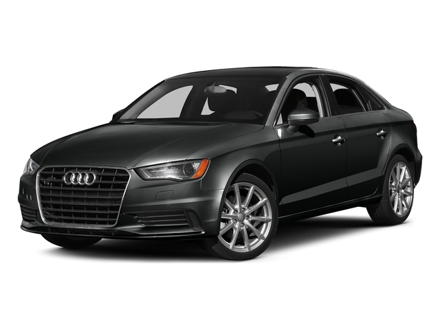 Mythos Black Metallic 2016 Audi A3 Pictures A3 Sed 4D 2.0T Premium Plus S-Line AWD photos front view