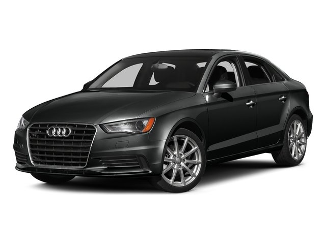 Mythos Black Metallic 2016 Audi A3 Pictures A3 Sedan 4D TDI Premium Plus 2WD Turbo photos front view