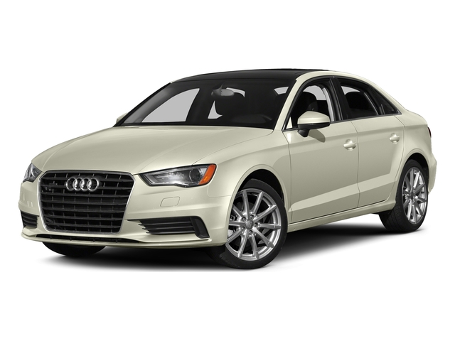 Glacier White Metallic 2016 Audi A3 Pictures A3 Sed 4D 2.0T Premium Plus S-Line AWD photos front view