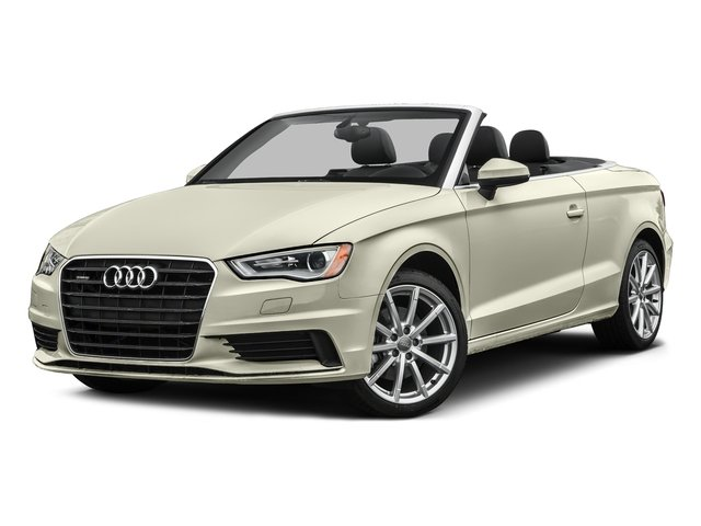 Glacier White Metallic/Black Roof 2016 Audi A3 Pictures A3 Conv 2D 2.0T Premium Plus S-Line AWD photos front view