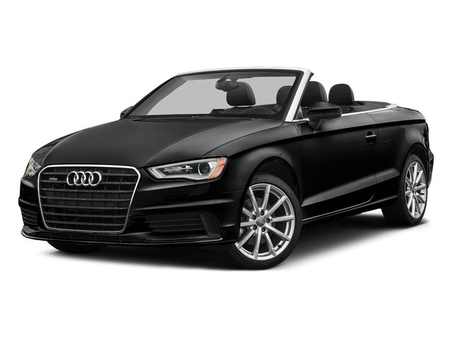 Brilliant Black/Black Roof 2016 Audi A3 Pictures A3 Conv 2D 2.0T Premium Plus S-Line AWD photos front view