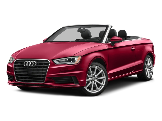 Brilliant Red/Black Roof 2016 Audi A3 Pictures A3 Conv 2D 2.0T Premium Plus S-Line AWD photos front view
