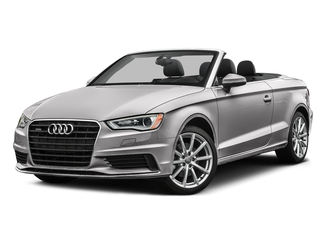 Florett Silver Metallic/Black Roof 2016 Audi A3 Pictures A3 Conv 2D 2.0T Premium Plus S-Line AWD photos front view