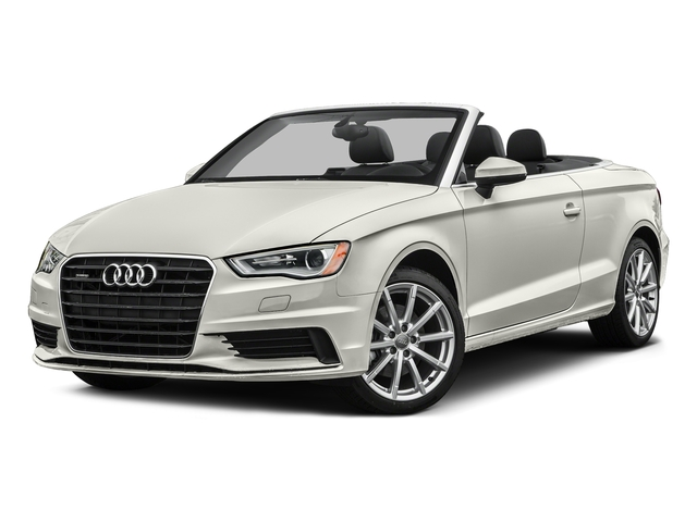 Ibis White/Black Roof 2016 Audi A3 Pictures A3 Conv 2D 2.0T Premium Plus S-Line AWD photos front view