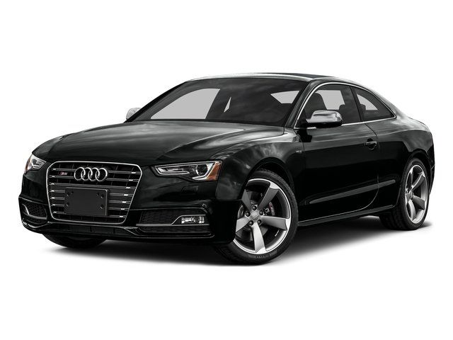 Mythos Black Metallic 2016 Audi S5 Pictures S5 Coupe 2D S5 Prestige AWD photos front view
