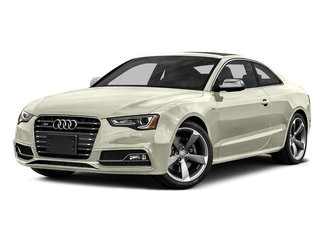Glacier White Metallic 2016 Audi S5 Pictures S5 Coupe 2D S5 Prestige AWD photos front view