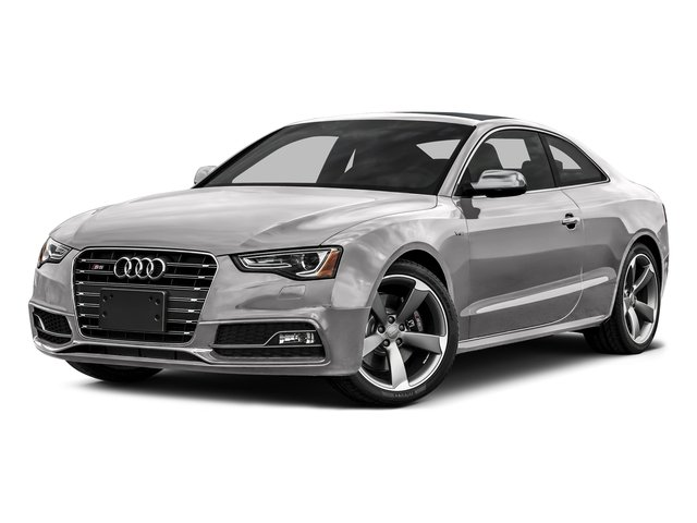 Floret Silver Metallic 2016 Audi S5 Pictures S5 Coupe 2D S5 Prestige AWD photos front view