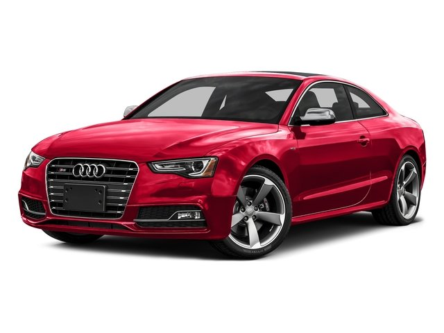 Misano Red Pearl Effect 2016 Audi S5 Pictures S5 Coupe 2D S5 Prestige AWD photos front view