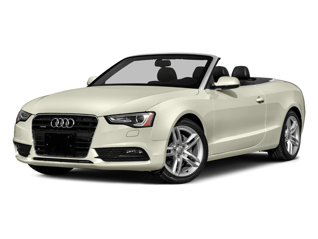 Glacier White Metallic/Red Roof 2016 Audi A5 Pictures A5 Convertible 2D Premium Plus AWD photos front view
