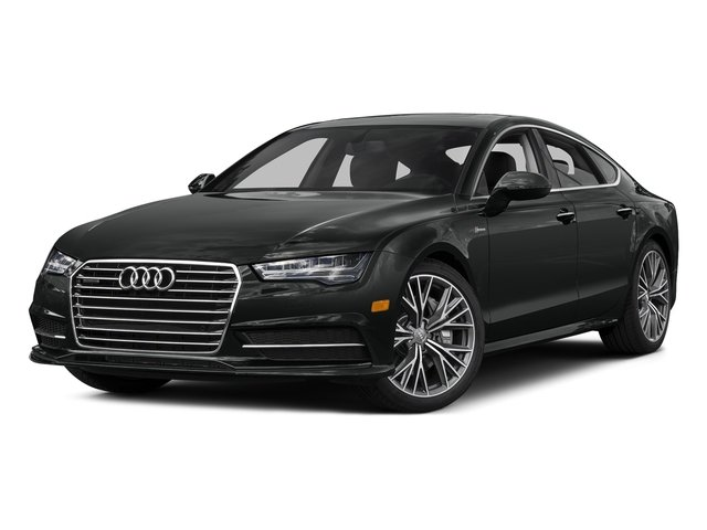 Mythos Black Metallic 2016 Audi A7 Pictures A7 Sedan 4D 3.0T Prestige AWD photos front view