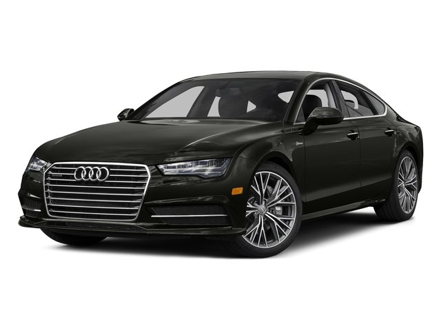 Havanna Black Metallic 2016 Audi A7 Pictures A7 Sedan 4D 3.0T Prestige AWD photos front view