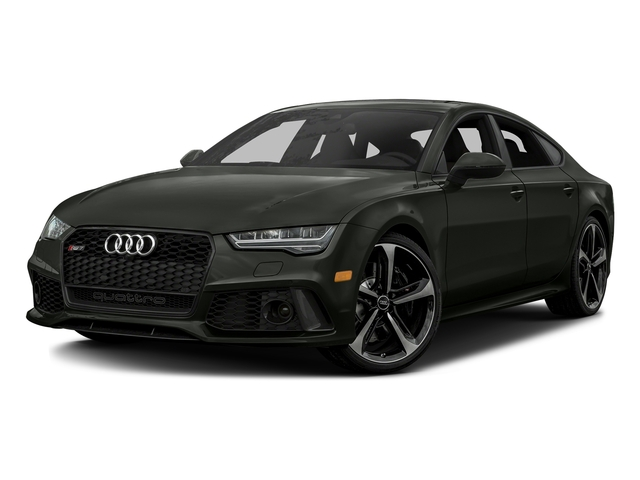 Daytona Gray Pearl Effect 2016 Audi RS 7 Pictures RS 7 Sedan 4D Prestige AWD photos front view
