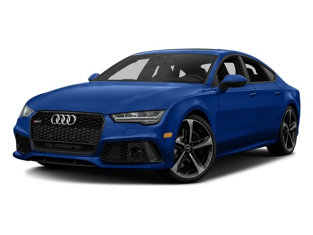 Sepang Blue Pearl Effect 2016 Audi RS 7 Pictures RS 7 Sedan 4D Prestige AWD photos front view