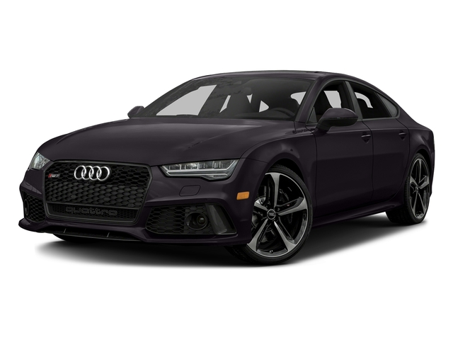 Panther Black Crystal Effect 2016 Audi RS 7 Pictures RS 7 Sedan 4D Prestige AWD photos front view