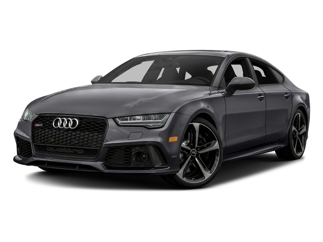 Nardo Gray 2016 Audi RS 7 Pictures RS 7 Sedan 4D Prestige AWD photos front view