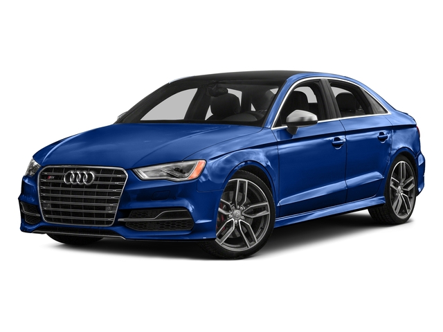 Sepang Blue Pearl Effect 2016 Audi S3 Pictures S3 Sedan 4D Premium Plus AWD I4 Turbo photos front view