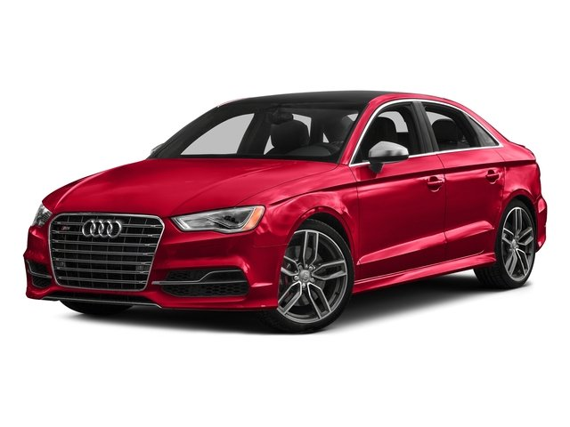 Misano Red Pearl Effect 2016 Audi S3 Pictures S3 Sedan 4D Premium Plus AWD I4 Turbo photos front view