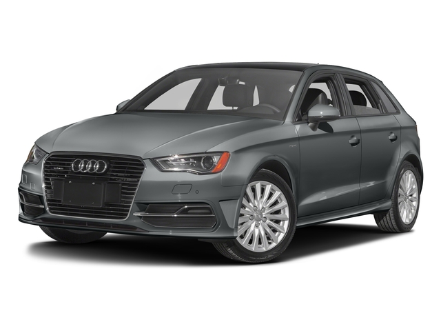 Monsoon Gray Metallic 2016 Audi A3 e-tron Pictures A3 e-tron Hatchback 5D E-tron Premium photos front view