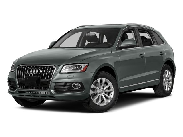 Monsoon Gray Metallic 2016 Audi Q5 Pictures Q5 Utility 4D TDI Prestige AWD photos front view
