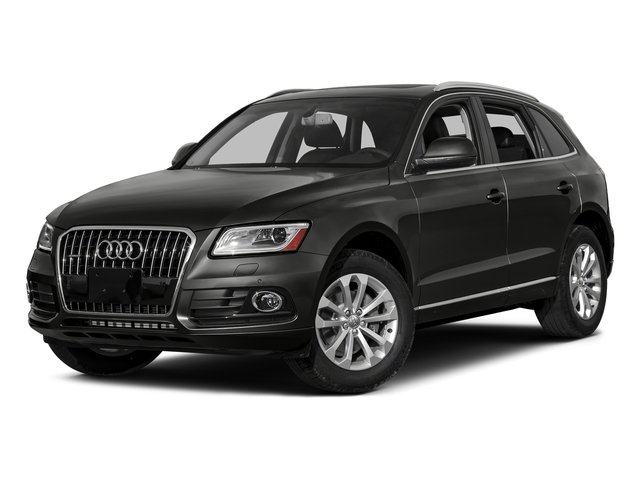 Lava Gray Pearl Effect 2016 Audi Q5 Pictures Q5 Utility 4D TDI Premium Plus AWD photos front view