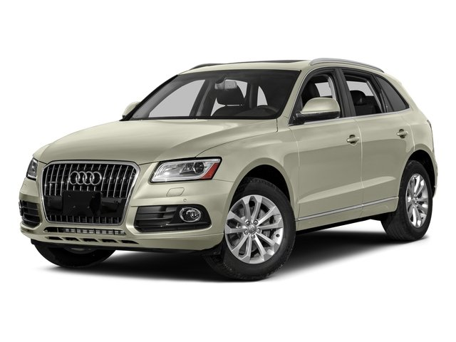 Glacier White Metallic 2016 Audi Q5 Pictures Q5 Utility 4D 2.0T Premium Plus AWD photos front view