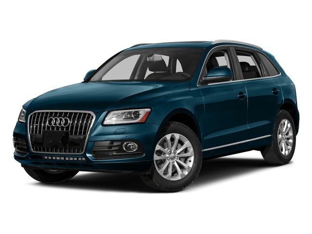 Utopia Blue Metallic 2016 Audi Q5 Pictures Q5 Utility 4D 3.0T Premium Plus AWD photos front view